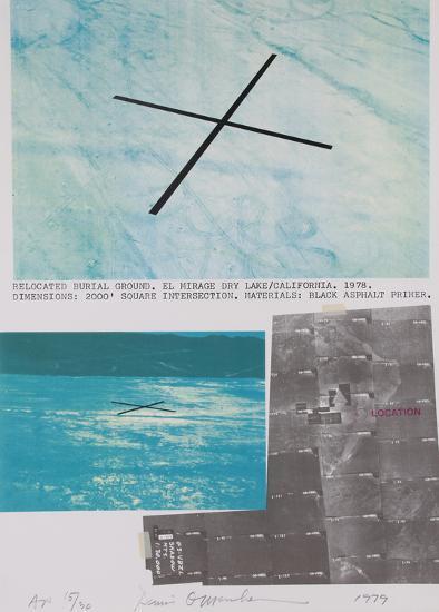 Stars Missoula Montana-Dennis Oppenheim-Collectable Print