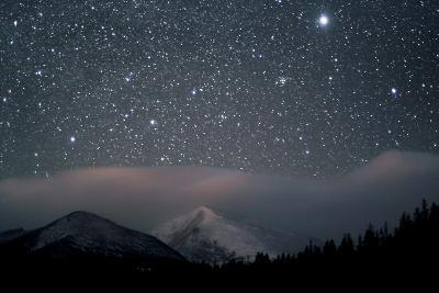 Stars over Rocky Mountain National Park-Pat Gaines-Photographic Print