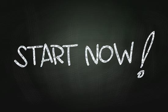 Start Now-airdone-Art Print