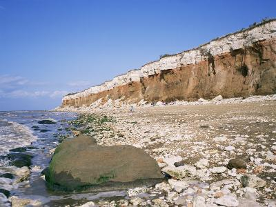 Start or End of the Wash, Hunstanton Cliffs, Norfolk, England, United Kingdom-Roy Rainford-Photographic Print