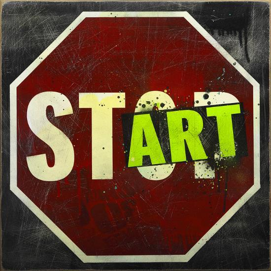 Start-Daniel Bombardier-Giclee Print