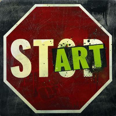 Start-Daniel Bombardier-Art Print