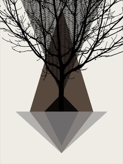 Startree Brown--Art Print