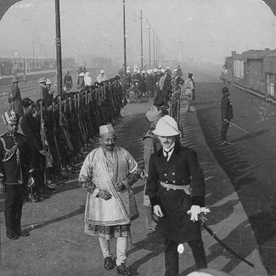 State Arrival of the Maharaja of Benares at Delhi, India, 1912-HD Girdwood-Giclee Print