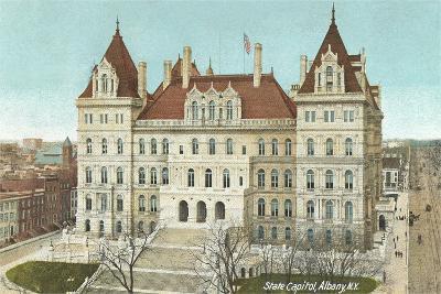 State Capitol, Albany--Art Print