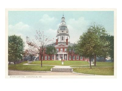 State Capitol, Annapolis, Maryland--Art Print