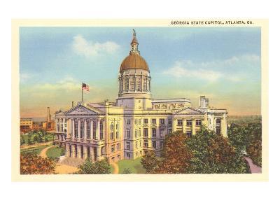 State Capitol, Atlanta, Georgia--Art Print