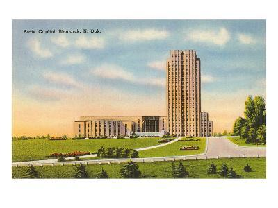 State Capitol, Bismarck, North Dakota--Art Print