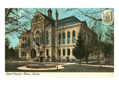 State Capitol, Boise, Idaho--Art Print