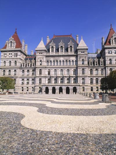 State Capitol Building, Albany, New York-Bill Bachmann-Photographic Print