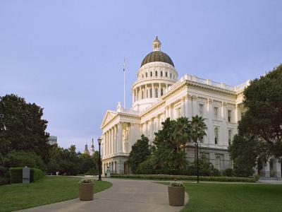 State Capitol Building, Sacramento, California-Dennis Flaherty-Photographic Print