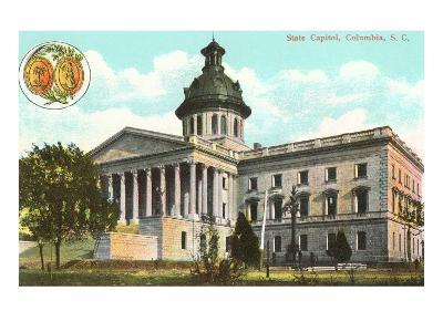 State Capitol, Columbia, South Carolina--Art Print
