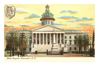 State Capitol, Columbia, South Carolina--Art Print