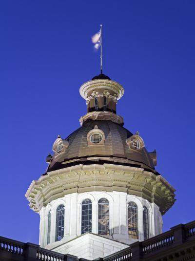 State Capitol Dome, Columbia, South Carolina, United States of America, North America-Richard Cummins-Photographic Print