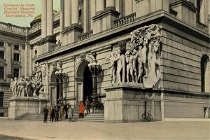 State Capitol Entrance, Harrisburg
