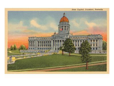 State Capitol, Frankfort, Kentucky--Art Print