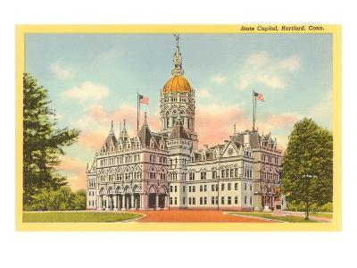 State Capitol, Hartford, Connecticut--Art Print