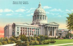 State Capitol, Jefferson City, Missouri