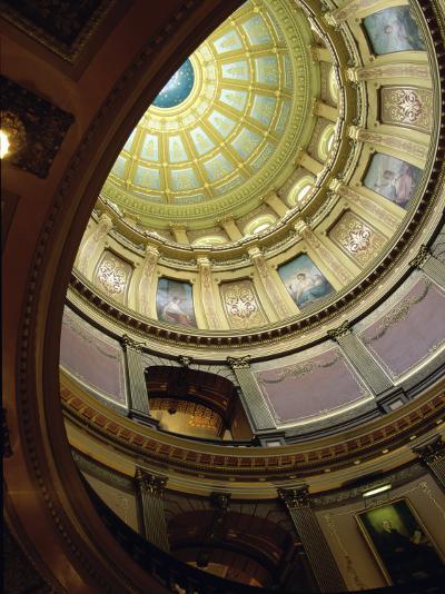 State Capitol, Lansing, Michigan, USA--Photographic Print