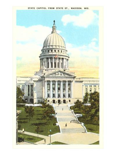 State Capitol, Madison, Wisconsin--Art Print