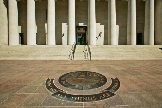 State Capitol of Ohio, Columbus--Photographic Print