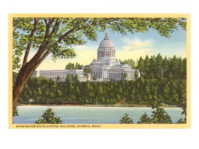 State Capitol, Olympia, Washington--Art Print