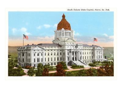 State Capitol, Pierre, South Dakota--Art Print