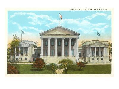 State Capitol, Richmond, Virginia--Art Print