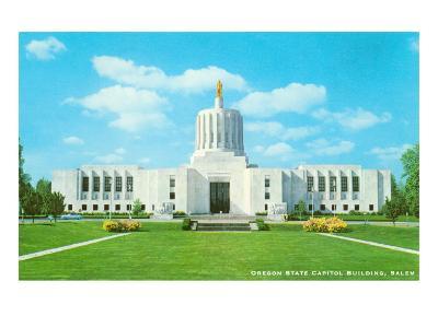 State Capitol, Salem, Oregon--Art Print