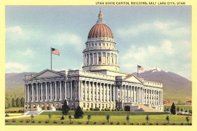 State Capitol, Salt Lake City--Art Print