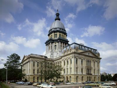 State Capitol, Springfield, Illinois, USA--Photographic Print