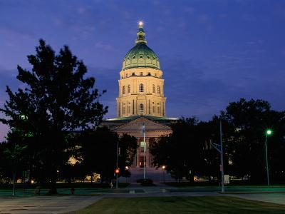 State Capitol, Topeka, USA--Photographic Print