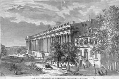 State Department at Washington--Photographic Print