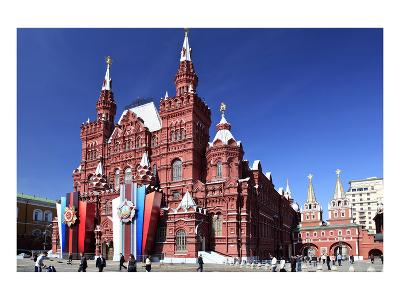 State Historical Museum, Moscow, Russia--Art Print