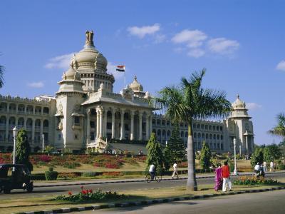 State Legislature & Secretariat Building, Bangalore, Karnataka State, India-Jenny Pate-Photographic Print