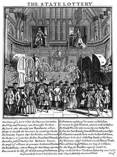 State Lottery, 1739--Giclee Print