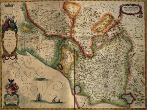 State of Lucca, Italy, from Regionum Italiae