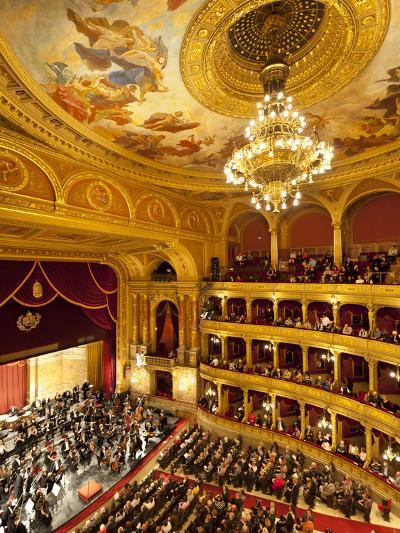 State Opera House (Magyar Allami Operahaz) with Budapest Philharmonic Orchestra, Budapest, Central -Stuart Black-Photographic Print
