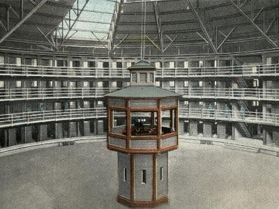 State Penitentiary at Stateville, Joliet, Illinois, USA-Peter Higginbotham-Photographic Print