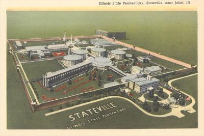 State Penitentiary, Stateville--Art Print
