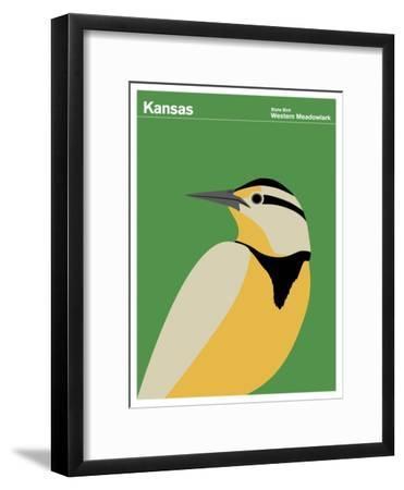 State Poster KS Kansas