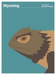 State Poster WY Wyoming