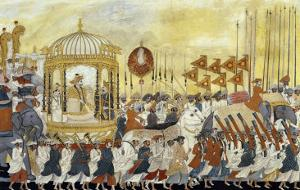 State Procession of Raja Tulsaji of Tanjore, circa 1780