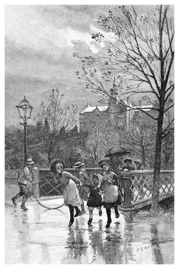 State School, Sandhurst, Australia, 1886--Giclee Print