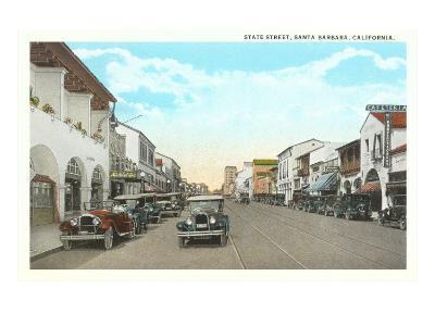 State Street, Santa Barbara, California--Art Print