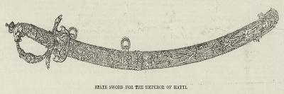 State Sword for the Emperor of Hayti--Giclee Print
