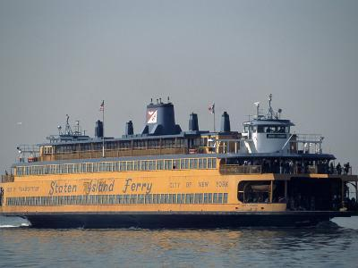 Staten Island Ferry, Staten Island, NY-Chris Minerva-Photographic Print