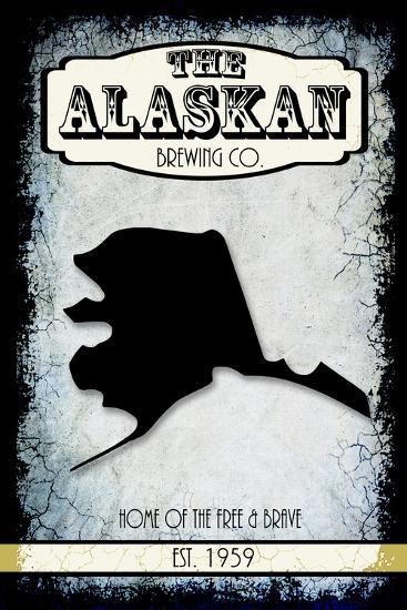 States Brewing Co Alaska-LightBoxJournal-Giclee Print