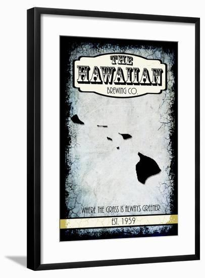 States Brewing Co Hawaii-LightBoxJournal-Framed Giclee Print