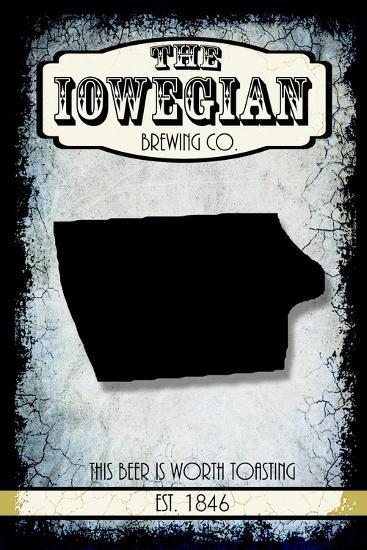 States Brewing Co Iowa-LightBoxJournal-Giclee Print